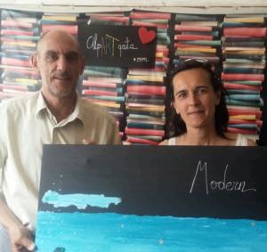 Mi Maria José y Tito de la Casa Grande de Quintanas de Gormaz... un modo de vida