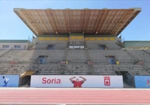 SUPERACION Pista de Atletismo LOS PAJARITOS, Soria