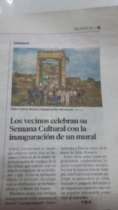 Inauguración Mural Sarnago