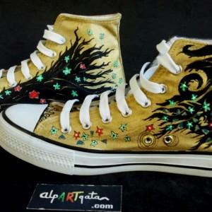 zapatillas-pintadas-mano-alpartgata-el-beso-klimt (12)