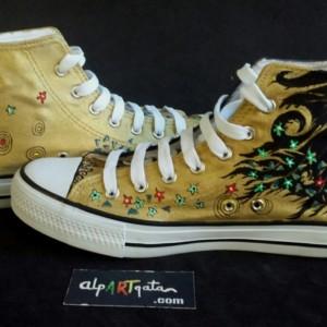 zapatillas-pintadas-mano-alpartgata-el-beso-klimt (14)