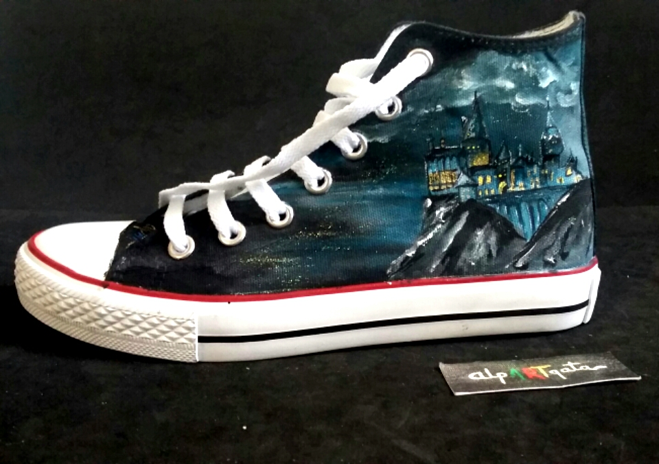 17d59ba5422 Zapatillas Harry Potter — alpARTgata