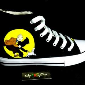 zapatillas-personalizadas-pintadas-alpartgata-tintin (1)