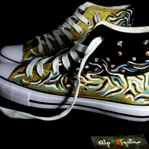 zapatillas-personalizadas-pintadas-alpartgata-danae-klimt (8)