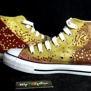 zapatillas-personalizdas-pintadas-alpartgata-danae-klimt (7)