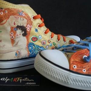 zapatillas-personalizadas-optimistas-pintadas-alpartgata-klimt