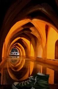 Sevilla, donde Pedro I el cruel se encontraba con su amada.