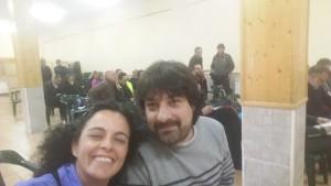 Julita Romera y Ruben Garcia