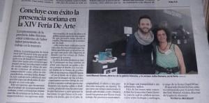 Heraldo de Soria 26/04/2015