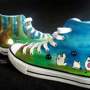 Zapatillas-personalizadas-pintadas-alpartgata-Totoro (10)