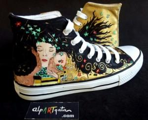 zapatillas-pintadas-mano-alpartgata-el-beso-klimt (8)
