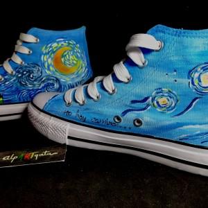 zapatillas-pintadas-personalizadas-va-gogh 1