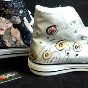 zapatillas-personalizadas-alpartgata-el-beso-de-la-guerrera-klimt-3