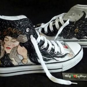 zapatillas-personalizadas-alpartgata-el-beso-de-la-guerrera-klimt-8
