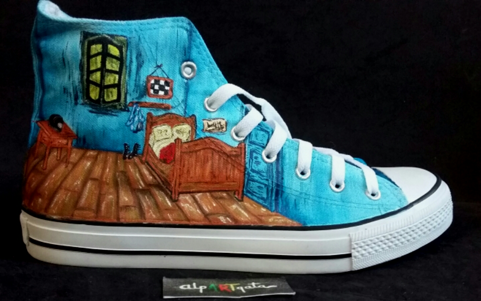 Zapatillas Van Gogh, Tu habitación — alpARTgata