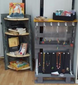 Los libros y la artesanía