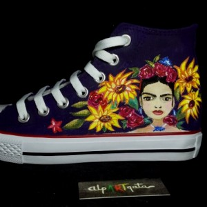 zapatillas-personalizadas-alpartgata-frida-pintadas