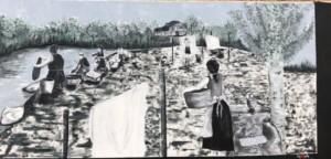 Mujeres de Blacos Lavando
